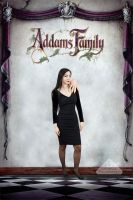 Addams Family Values Poster - Morticia by chamellephoto