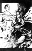 Supes and Bats by NicoBlue
