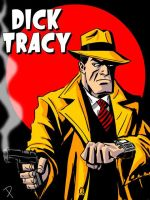 Dick Tracy by jaypiscopo