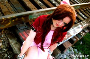 Aerith Gainsborough by miyumiyuchancosplay