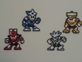Megaman 3 Masters V1 by DuctileCreations