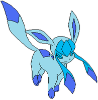 Pokemon Glaceon by redeyeswolfman