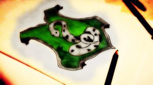 Slytherin Arms Drawing by FlorxFranco4ever