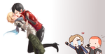 [Resident evil (ask)] Ada x Sherry by ProtoRC