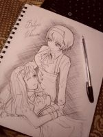 Aph Belarus and Ukraine by MelindaPhantomhive
