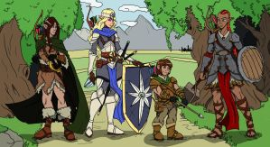 The Heroes of Elsir Vale by CandyKappa