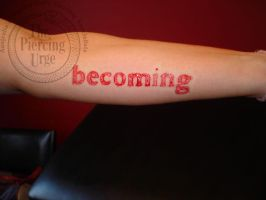 Scarification Piece by PiercingPete