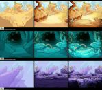 Zombinis backgrounds by Trudsss