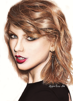 Taylor Swift Drawing by ThatArtistChick