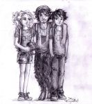 the old trio by cherryclaires