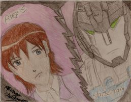 alexis and starscream by transformersmix