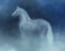 Cloud Horse by LuoLanJP