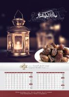 Ramadan Emsakiah Calendar by Digital-Saint