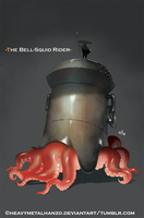 The Bell Squid Rider by HeavyMetalHanzo