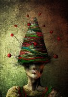 KNITTING NEEDLE MAN by aspius