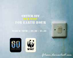 Earth hour poster2 by G-Team