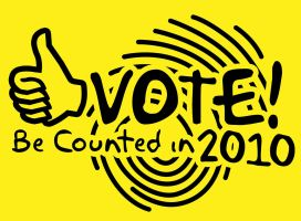 VOTE be counted in 2010 by jsonn