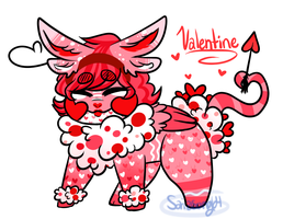 Reptalines: Valentine adopt opened~ by sariasong64