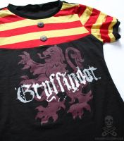 Harry Potter Gryffindor Shirt4 by smarmy-clothes