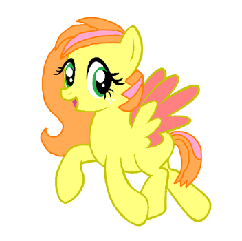 Fluttermac Foal trade with ~lolrsfunnypony128 by Strawberry-T-Pony
