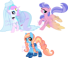 Lace Pony adoptables2 by Sakuyamon