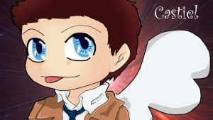 Chibi Castiel by GregoryHouse89
