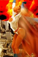 Power Girl saves the Day by DaswookofHeromorph