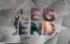 Tim Duncan Legend Wallpaper by Angelmaker666