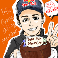 Happybirthday Marc Marquez! by midzki