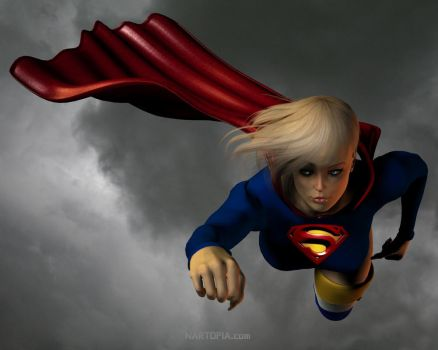 SuperGirl 2 by blackzig