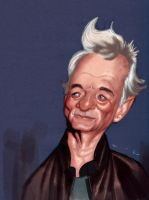 Bill Murray by DevonneAmos