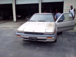 My 1986 Honda Accord Hatchback 2 by Kyuubichowderfan