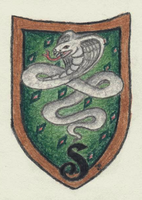 Slytherin Crest by Goldfog