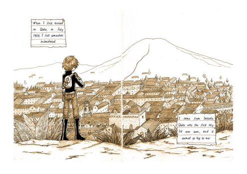Guerra Santa First Act - Pages 2 and 3 by Ruu-the-Dasher