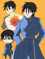 Roy Mustang Collage by 25animeguys