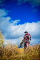 Halo blue skies by TIMECON