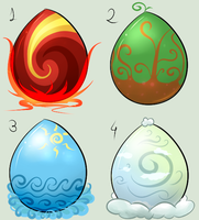 Point element egg adopts CLOSED by Aqua-Adopts22