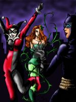 Gotham Femme Fatales by Tamao