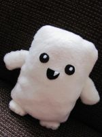 Adipose plushie by Haldthin