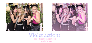 Violet actions by sasa-92