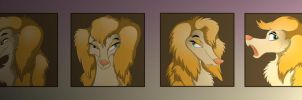 Many faces of Sasha by StarGriffin