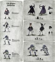Plague Hunter Character Charts by EranFolio