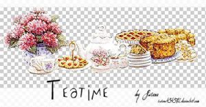 Teatime PNGs by Susana by susana454572