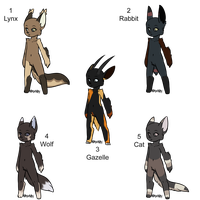 Natural Anthro Adopts - Adopted by Feralx1