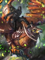 Griffin - step1 by Grosnez