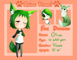 [AnimeKennel] Application - Olive by SP-Nova