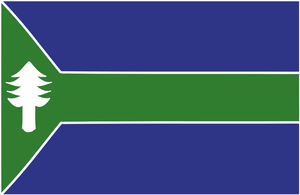 Flag of the State of Upper Michigan by Coliop-Kolchovo