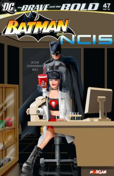Batman and Abby of NCIS by MysticMorgan