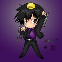 KHR: Hibari---Chibi by winter-kid