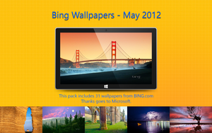 Bing Wallpapers - May 2012 by Misaki2009
